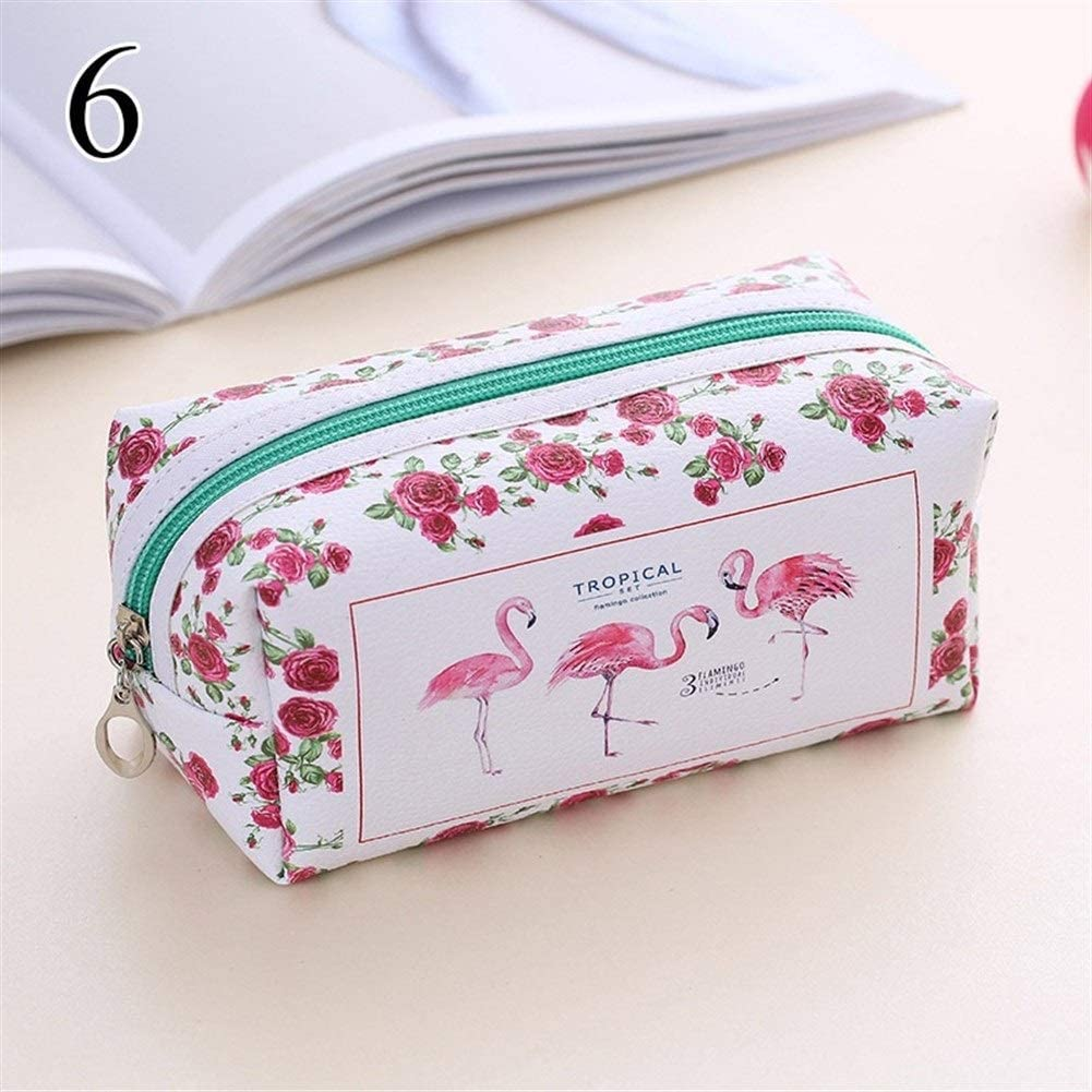 Caja de lápiz 1PCS Kawaii Flamingo Pencil Case Creative Pen Case ...