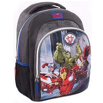 Vadobag Invincible   Niños Mochila Gris   Marvel Avengers   35 x 25 x 12 cm