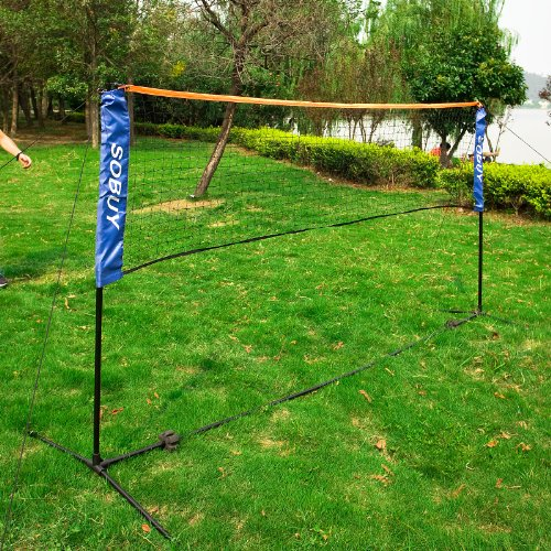 how to make badminton net stand