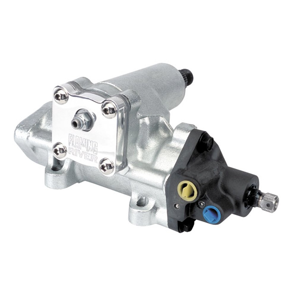 Flaming River FR1560 12:1 Power Steering Box for GM by Flaming River (Image #1)