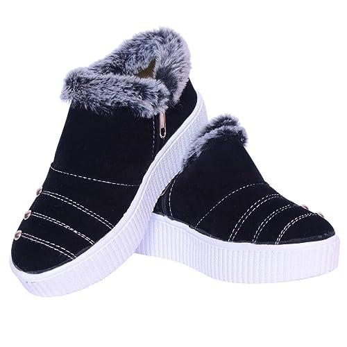 Buy Twinkle Star Black Winter FAR Shoes