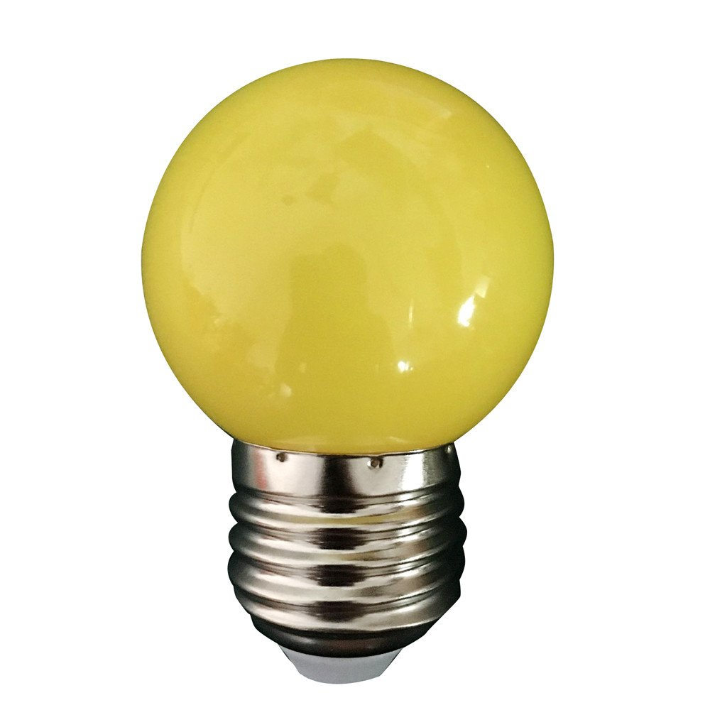 HighlifeS Led Light Bulb E27 for Home, Living Room, Party Decoration Waterproof Outdoor Indoor Floodlight (Yellow)