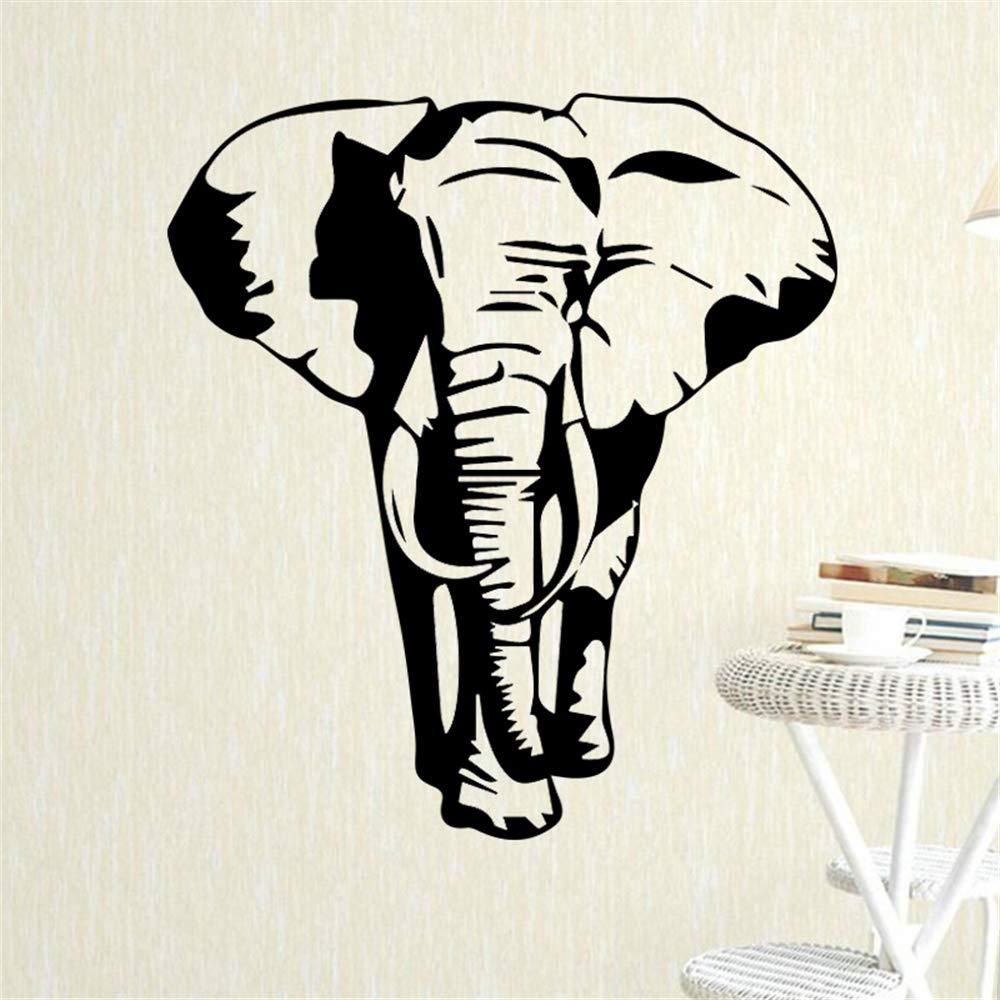 Patrón de elefante etiqueta de la pared para los niños dormitorio ...