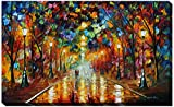 Picture Perfect International ''Farewell To Anger'' by Leonid Afremov Giclee Stretched Canvas Wall Art, 24'' x 40'' x 1''