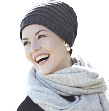 Christine Headwear Gorro oncológico de Punto 100% algodón Lumi ...