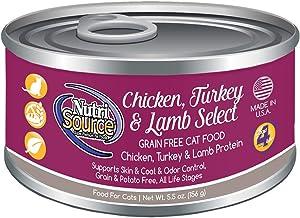 Nutri Source Cat & Kitten - Chicken, Turkey & Lamb - 12 x 5 oz