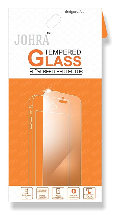 Johra Real HD+ Tempered Glass for Samsung Galaxy C7 Pro Maintenance, Upkeep   Repairs