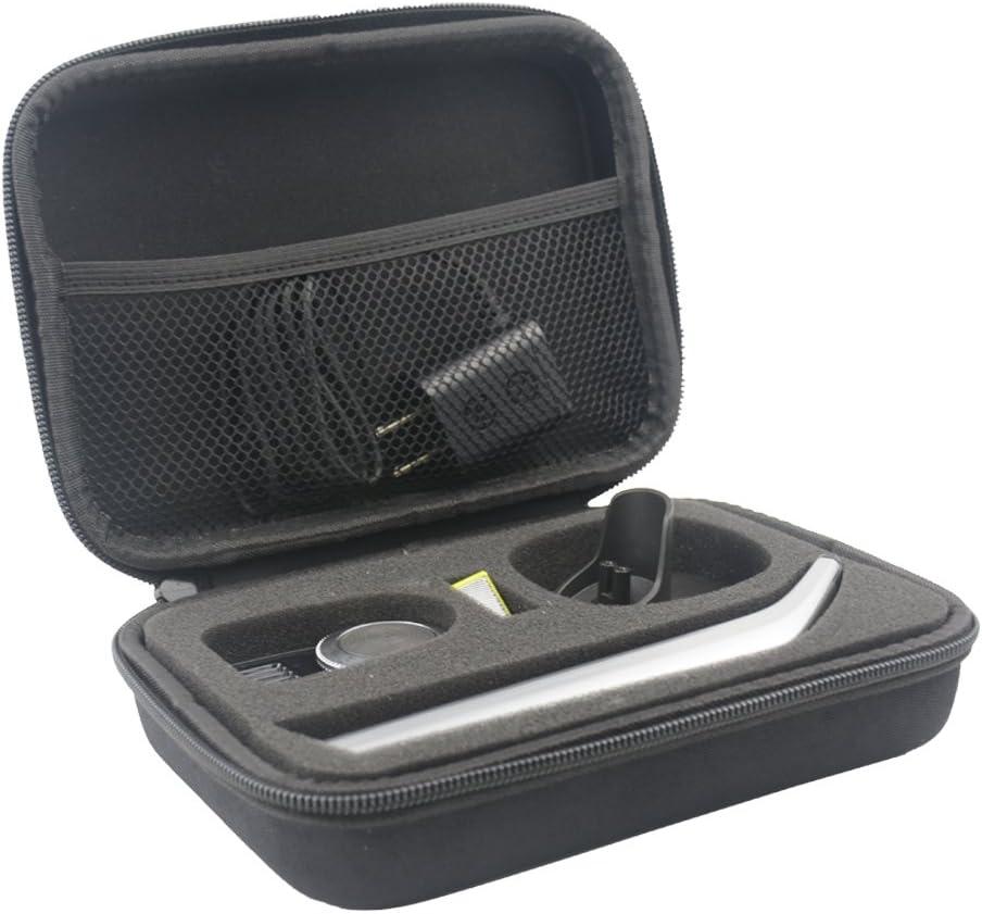 Duro Estuche Viajes Funda Bolso para OneBlade Pro QP6520/30 QP6510/30 QP6510/60 - Recortador de barba by SANVSEN