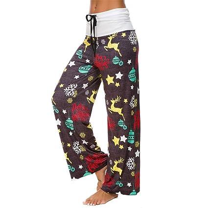 6a77dfe26d8f0 Amazon.com: BOLUOYI Yoga Pants for Women Capri Women Christmas ...