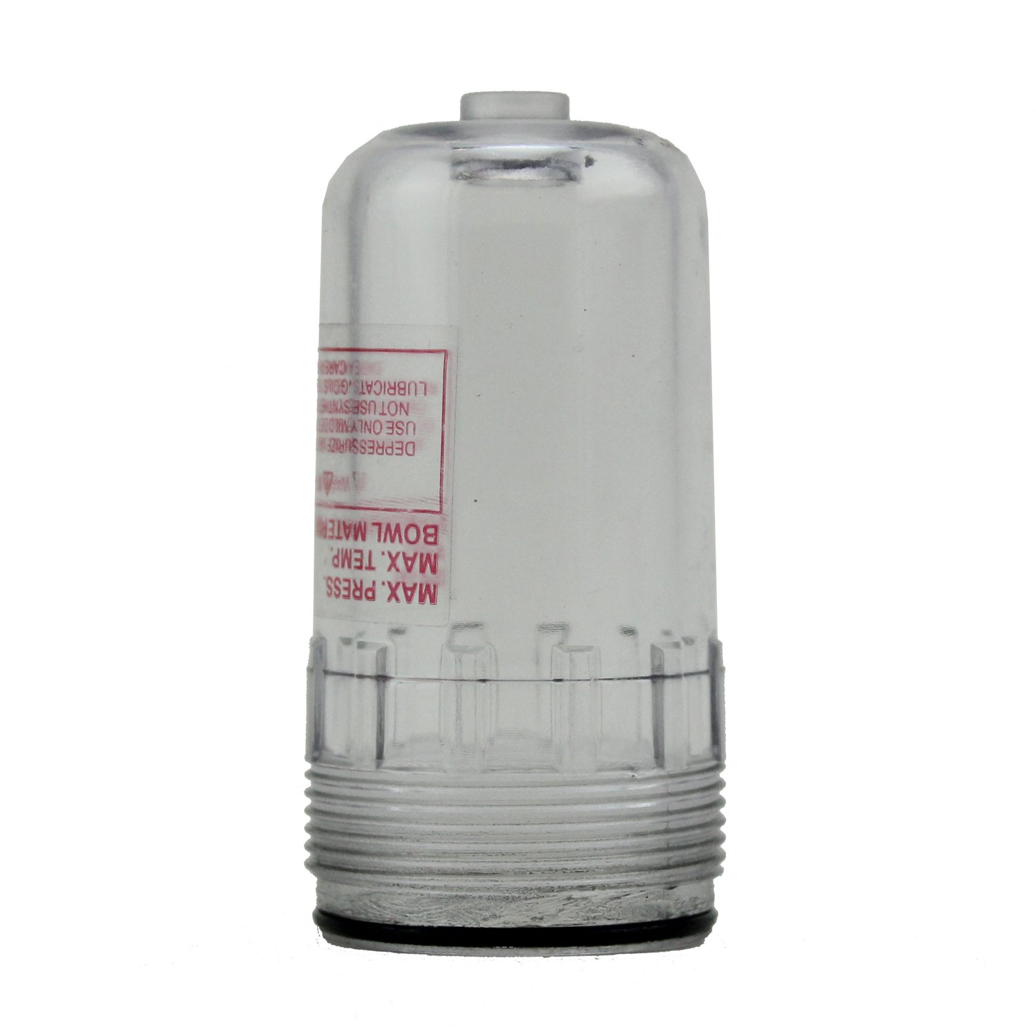 ExelAir EX25RLB-P Mini Polycarbonate Replacement FRL Lubricator Bowl