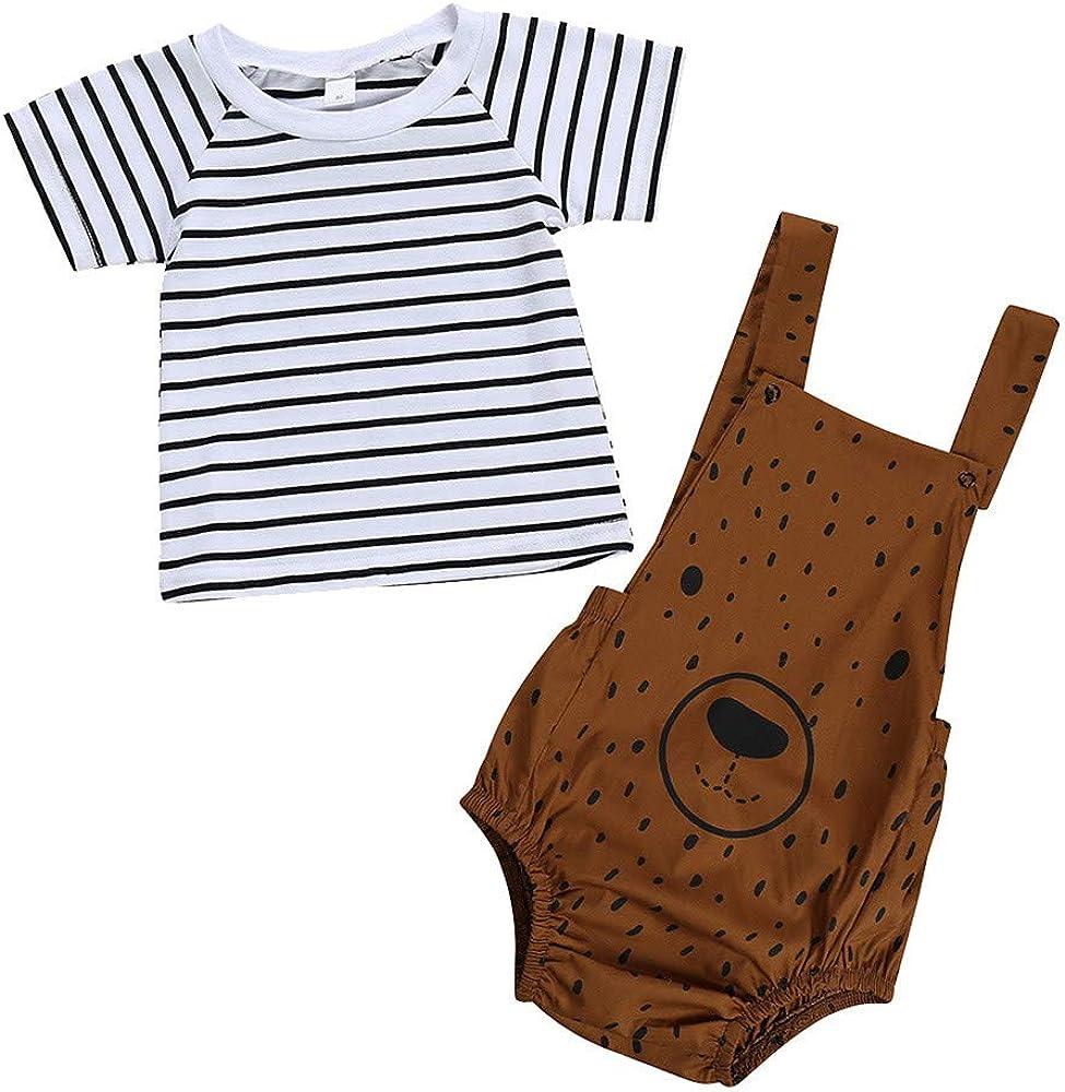 VECDY Conjuntos Bebé Niña, Infantil Camiseta con Estampado De ...