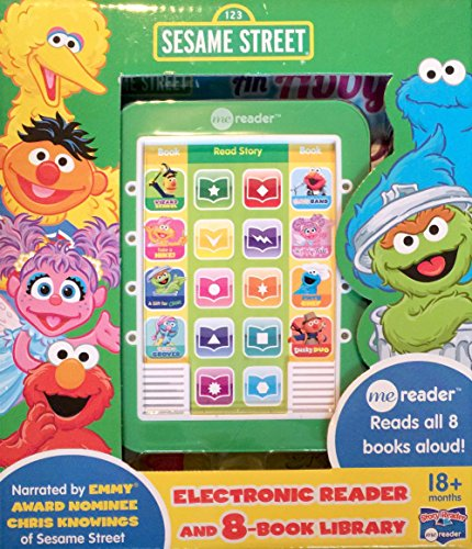 Seasame Street me reader 8-book Library (Furry Chef, Take a Hike, An Abby Tale, Elmo's Band, Wizard School, Dusty Duo, Up Late with Grover)