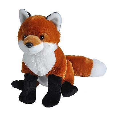 Wild Republic Red Fox Plush, Stuffed Animal, Plush Toy, Gifts For Kids, Cuddlekins 12 Inches: Toys & Games