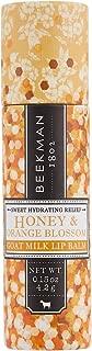 product image for Beekman 1802 - Lip Balm - Honey & Orange Blossom - Luxuriously Moisturizing Goat Milk Lip Balm For Dry, Cracked Lips - Goat Milk Lip Care - 0.15 oz