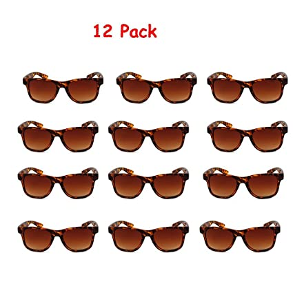 CoFash 12 Pack niños baratos gafas de sol Gafas de sol de ...