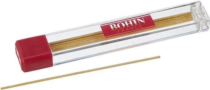 Bohin – Juego de 6 Minas Recambio para Lápiz de Tiza (6 Unidades), Amarillo: Amazon.es: Hogar