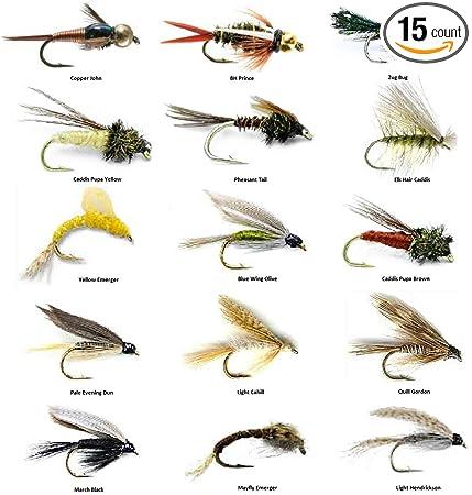 Fly Fishing Flies Salmon, Steelhead, Trout 6 flies March Brown Nymph