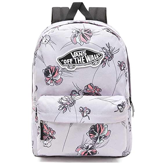 Vans Realm Backpack Evening Haze Paradise Floral: Amazon.co.uk: Clothing