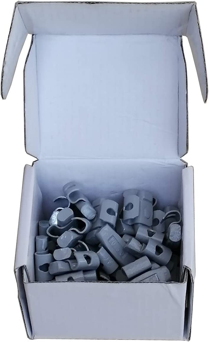 CWA-025a Harzole MC-025 1BOX 80pcs 1//4 oz Lead Free MC Type Wheel Weight 50pcs CWA-025a