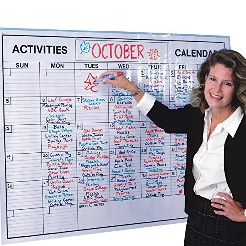 S&S Worldwide Laminated Jumbo Wall Calendar