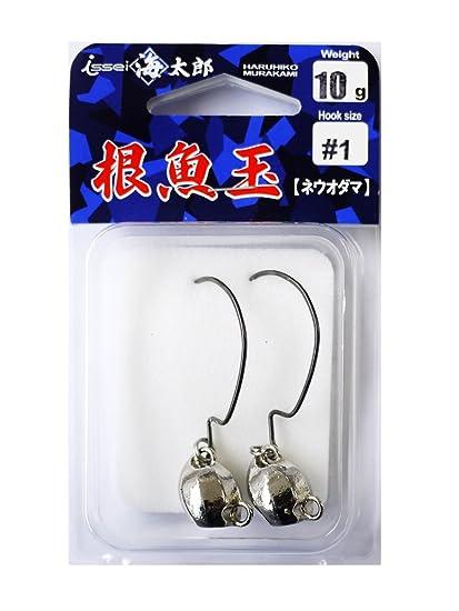 ISSEI(イッセイ)ジグヘッド海太郎根魚玉10g#1.の画像