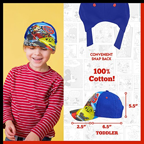 Disney Toddler Mickey Mouse Cotton Baseball Cap - 100% Cotton by Disney (Image #3)'