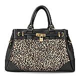 Alfred Durante Satchel-Style Leopard Women's Handbag by The Bradford Exchange