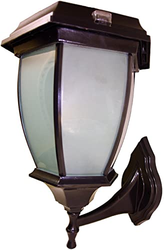 Solar Goes Green Coach Lamp – Wall Mount
