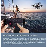 Nibito 2.4G Altitude Hold 0.3MP HD Camera Quadcopter RC Drone WiFi FPV Live Helicoptert