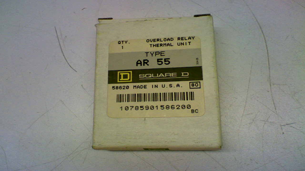 SQUARE D AR 35 THERMAL RELAY OVERLOAD UNIT HEATER