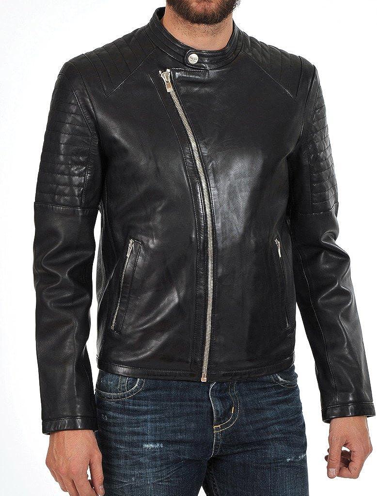 New Mens Designer Jacket Slim fit Stylish Cow Leather Jacket KC210