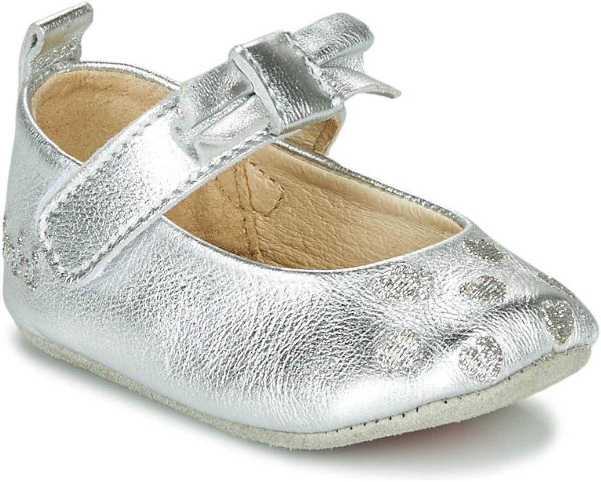 Catimini Corida Slippers Girls Silver