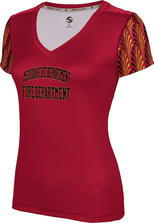 ProSphere Women's Meridian Fire Department Deco SL V-Neck Training Tee