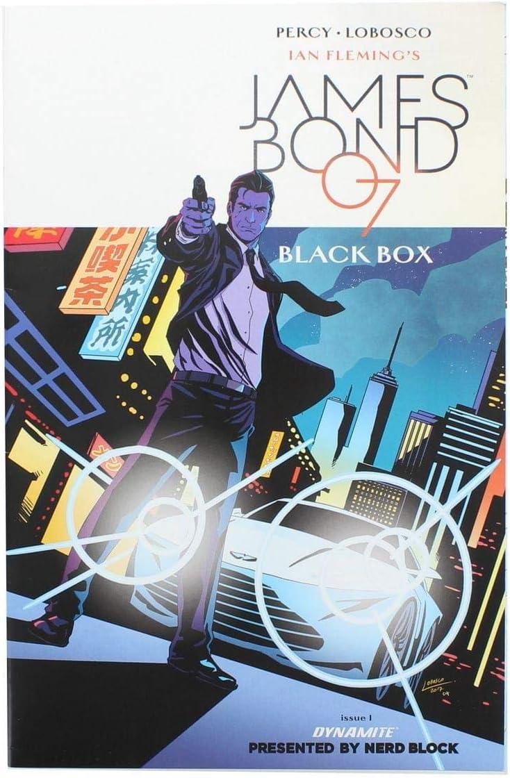 Nerd Block James Bond 007: Black Box #1 Exclusive Cover: Amazon.es: Juguetes y juegos