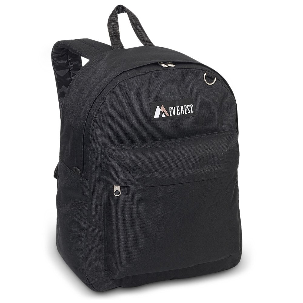 30 Pieces Case Pack Everest Classic Backpack (One Size, Black) by everest