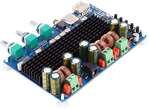 50/W Salida Est/éreo 100/W para subwoofer Tarjeta Amplificador de potencia tarjeta amplificador digital de 2.1/canales salida usb tf usb 50/W