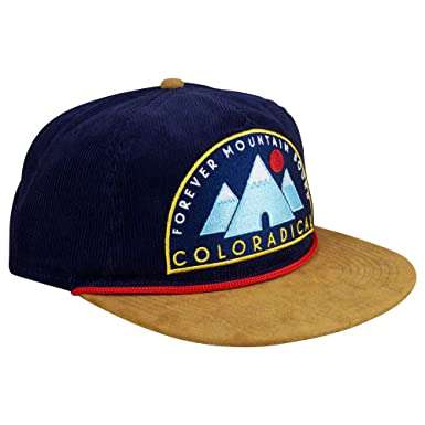 Amazon.com  Coloradical F.M.B. Corduroy Snapback Hat (Navy)  Clothing f70db0864c9
