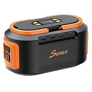 Seneo S262(S420) 222Wh AC出力200W ポータブル電源