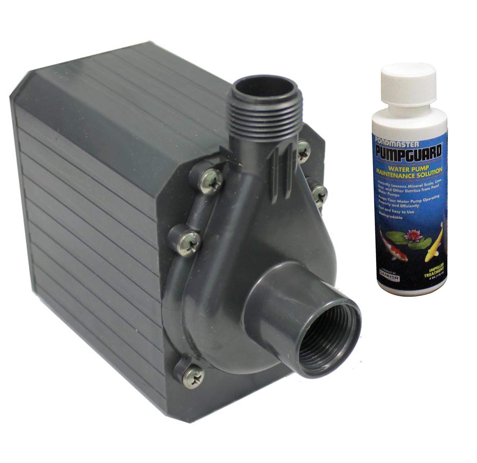 PONDMASTER PM-9.5 Supreme Mag Drive 950 GPH Pond Water Pump w/ Solution | 02720