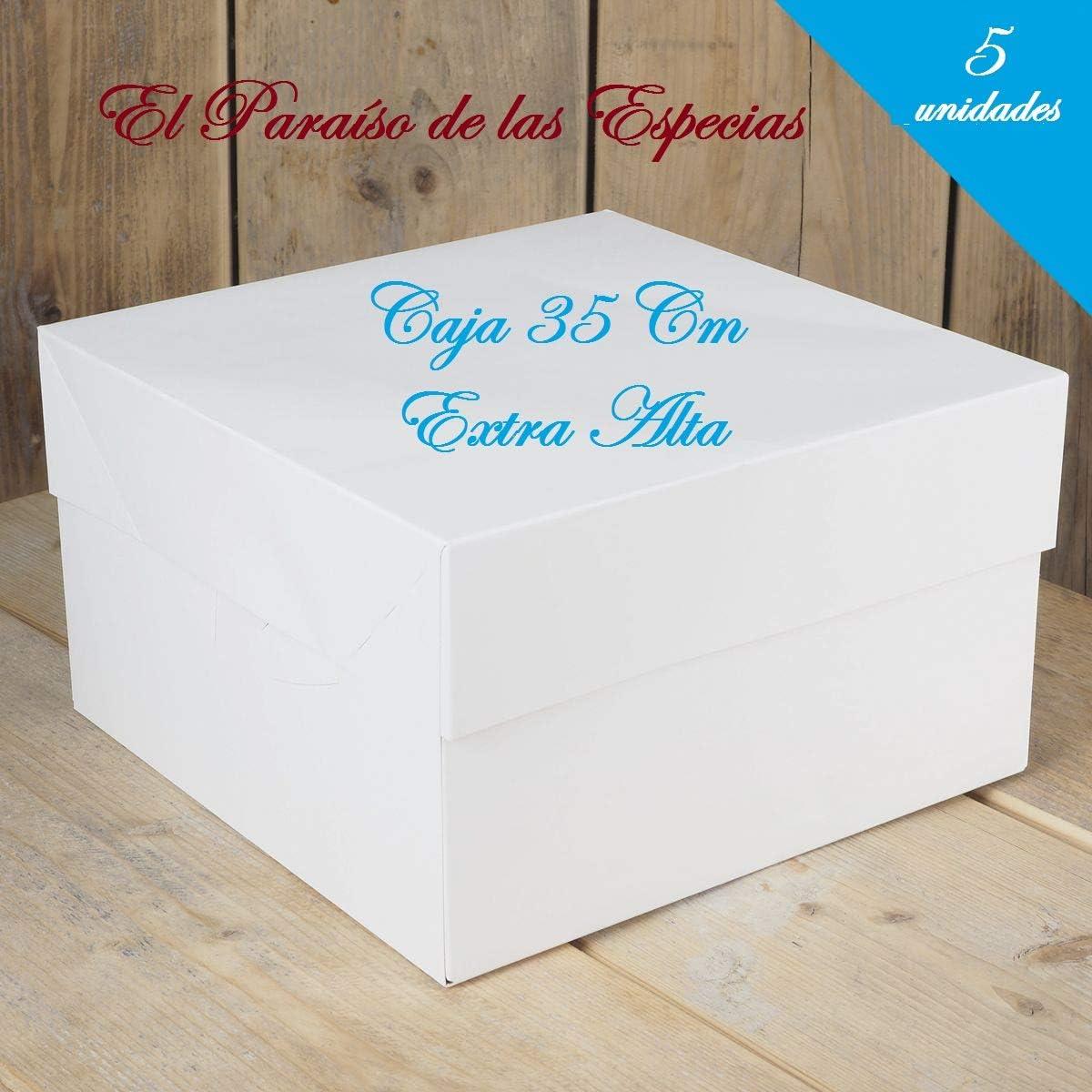 5 Cajas para Roscón de Reyes, Cuñas, Tartas, Repostería .Extra ...