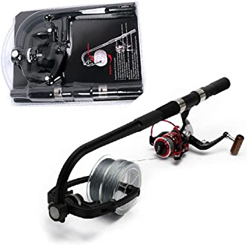 Fishing Line Winder Spooler Machine Spinning Reel Spool Station System Accessory