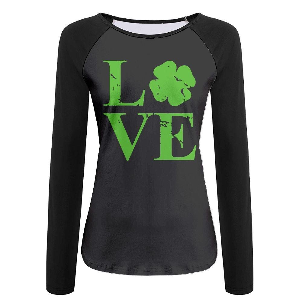 Women's Love Ireland1 Graphic Long-Sleeve Tee