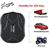 TKSTAR Waterproof GPS Tracker 5 Months Standby Vehicle Tracker Strong Magnetic No Need Installation Real -time Positioning Anti-theft for Car Auto Vehicle Motorcycle Bycicle Scooter TK905B