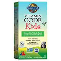 Garden of Life Vegetarian Multivitamin Supplement for Kids - Vitamin Code Kids Chewable...
