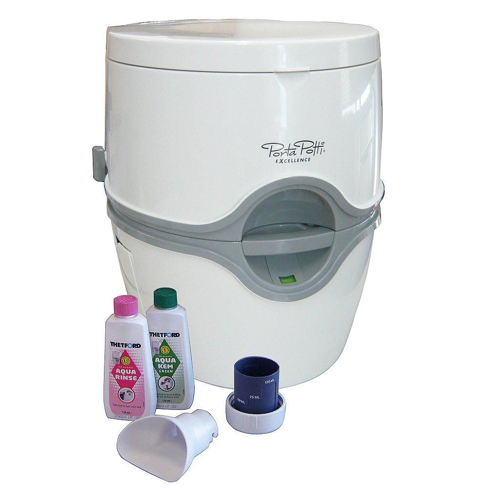 カーメイト(CARMATE) PortaPotti ポルタポッティ 電動水洗式ポータブルトイレ ホワイト PPE002 B00W0TIIX0