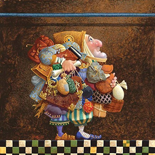 SunsOut - James Christensen - Hold To The Rod, The Iron Rod - Jigsaw Puzzle - 500 Pc