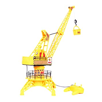 Buy generic remote control tower crane cable channel rc generic remote control tower crane cable channel rc engineering crane kids toys fandeluxe Images