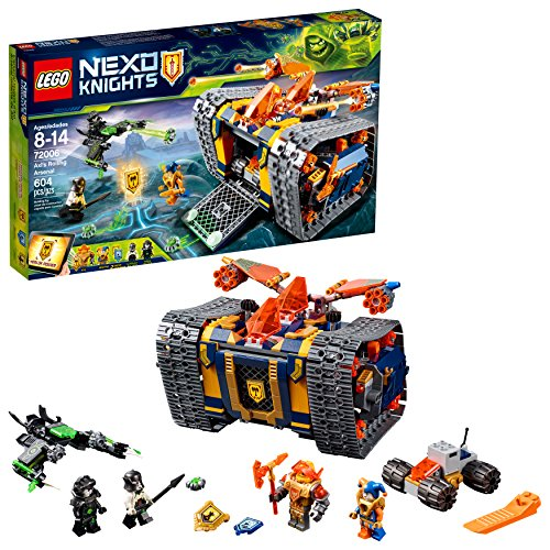 LEGO NEXO KNIGHTS Axl's Rolling Arsenal 72006 Building Kit (604 Piece) Arsenal Set