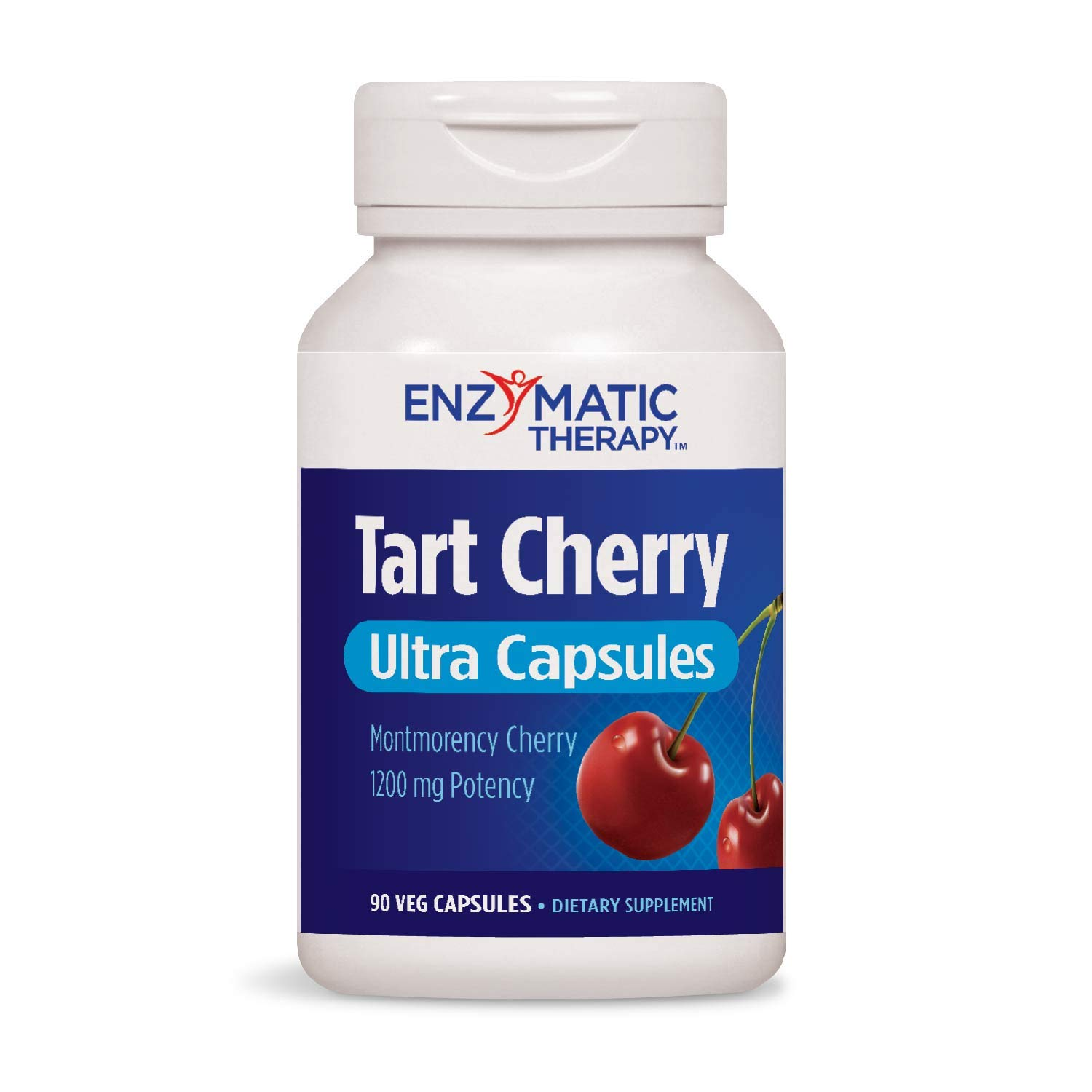 Enzymatic Therapy Tart Cherry Ultra Vegetarian Capsules, 90 Count by Enzymatic Therapy
