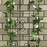 1. GO Metal Garden Trellis Panel Arch for
